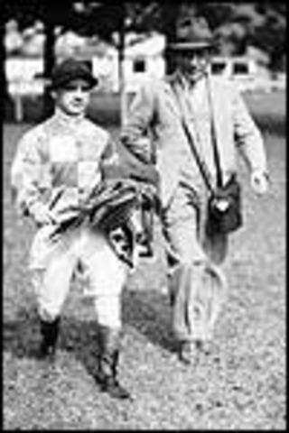 Fred Templeman, famous jockey in Great Bradley