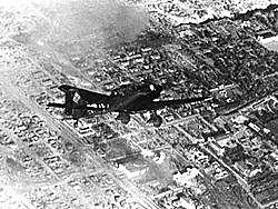 aviões da Alemanha bombardeiam a cidade de Paris
