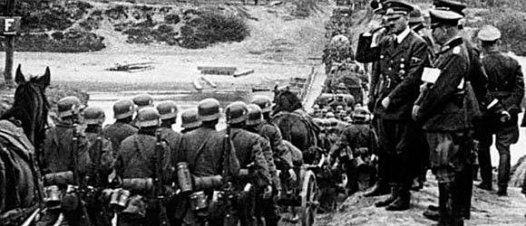 Tropas da Alemanha invadem a Polônia e começa oficialmente a 2 Guerra Mundial