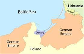 Alemanha anexou a cidade livre de Danzig.