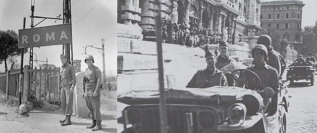 Os aliados entram em Roma