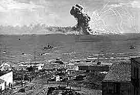 tropas aliadas desembarcam na Sicília