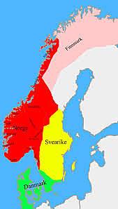 Dinamarca, Suécia e Noruega declaram neutralidade.