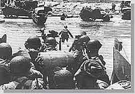 Dia D, os aliados desembarcam na Normandia