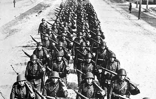 1 setembro - tropas da Alemanha invadem a Polônia