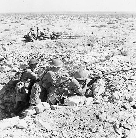 Inglaterra impede o avanço alemão na África