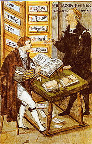 Creación de Leyes, libros y operaciones comerciales