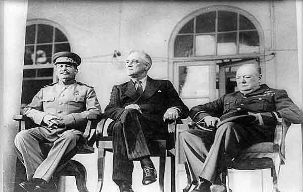 Conferência dos Aliados em Teerã (Irã)