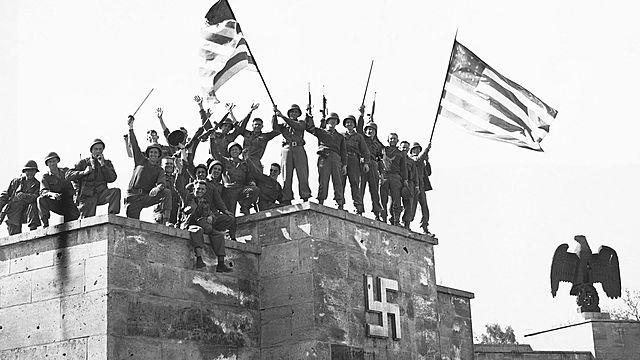A Alemanha se rende aos aliados