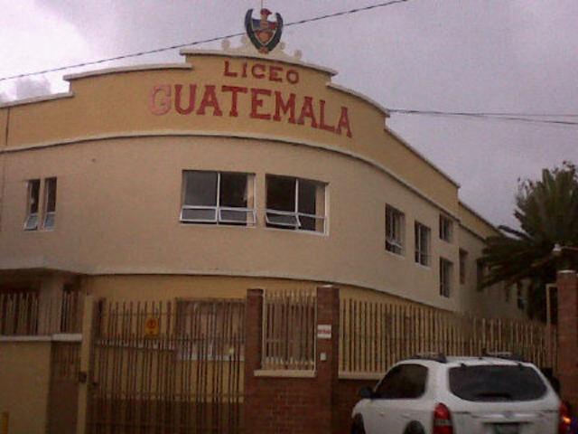 ento al Liceo Guatemala