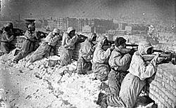 24 de novembro - tropas alemãs são cercadas em Stalingrado