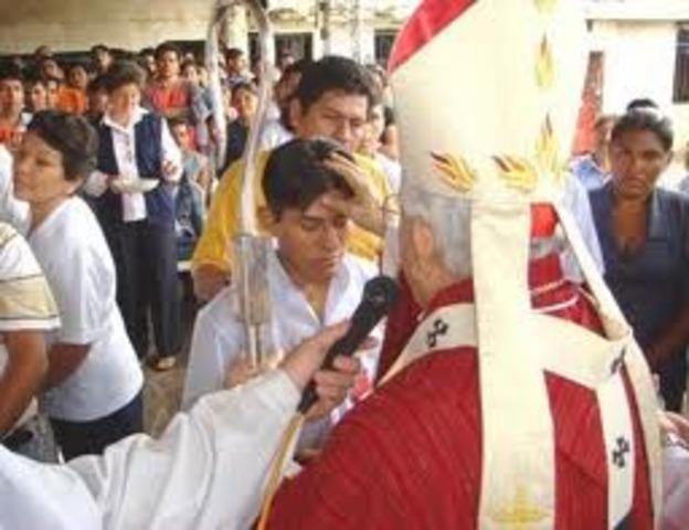 confirmacion en la religion católica