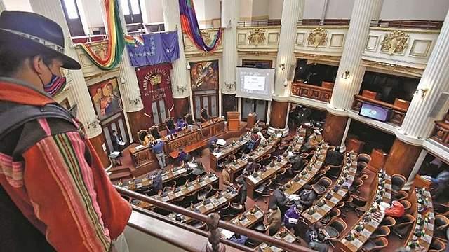 Con 5 normas, el MAS busca gobernar desde el Legislativo