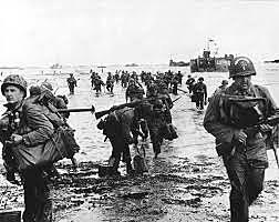 6 de junho - Dia D, os aliados desembarcam na Normandi