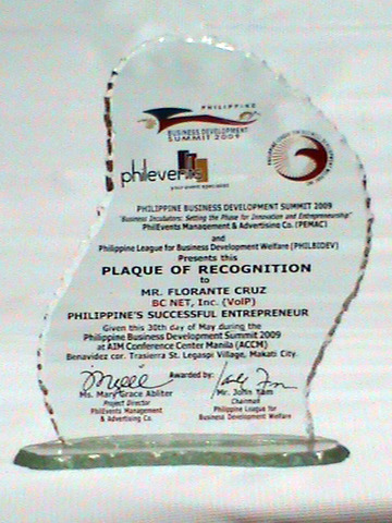 Business Development Summit Award