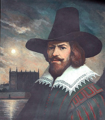 Guy Fawkes Arrested