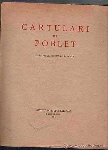 """Cartulari"" (Libro mayor)"