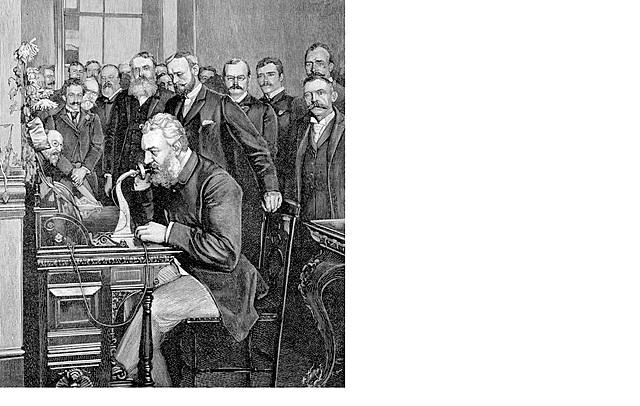 Telefono - Alexander Graham Bell