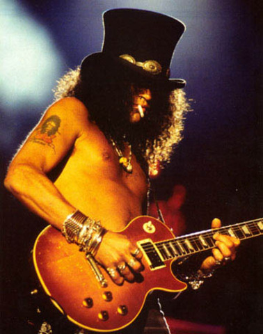 Slash collapsed and heart stopped for 8 minutes