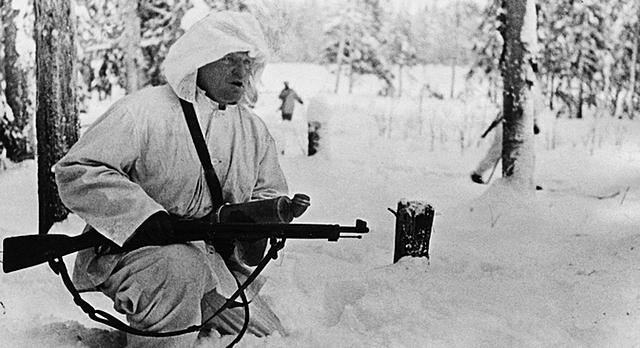 A União Soviética ataca a Finlândia