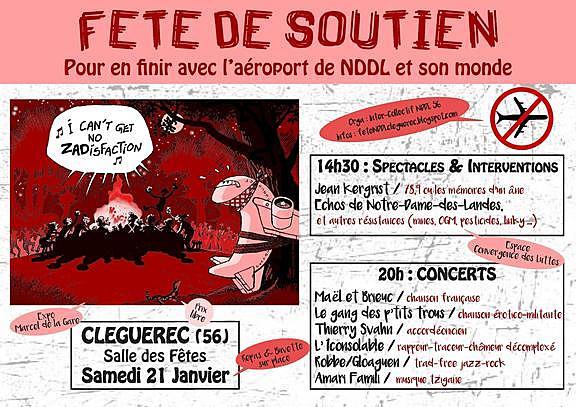 CLEGUEREC - SOUTIEN NDDL