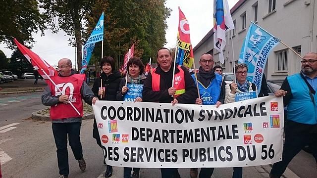 JNA : MANIFESTATION CONTRE REFORMES DE LA FONCTION PUBLIQUE