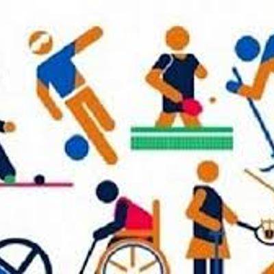 linea de tiempo sobre el deporte para personas con discapacidad. realizado por Farid Vargas  UDEC timeline