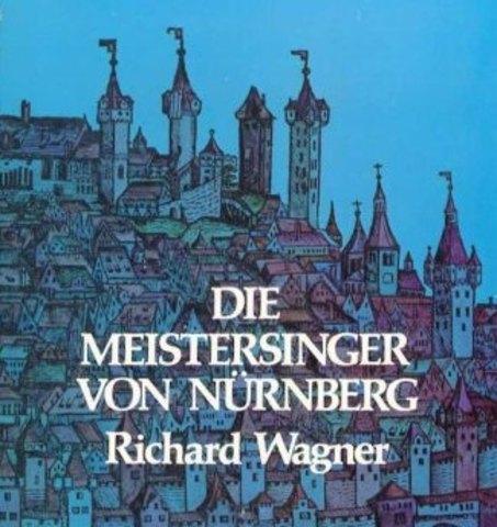 """Finished his opera """"Los maestros cantores de Núremberg"""""""