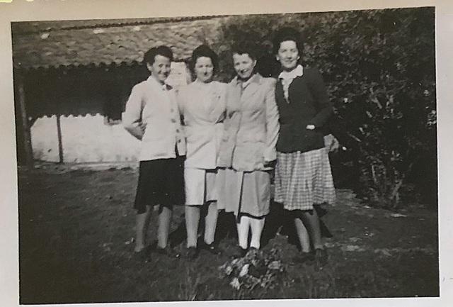 Alice et ses soeurs après la guerre