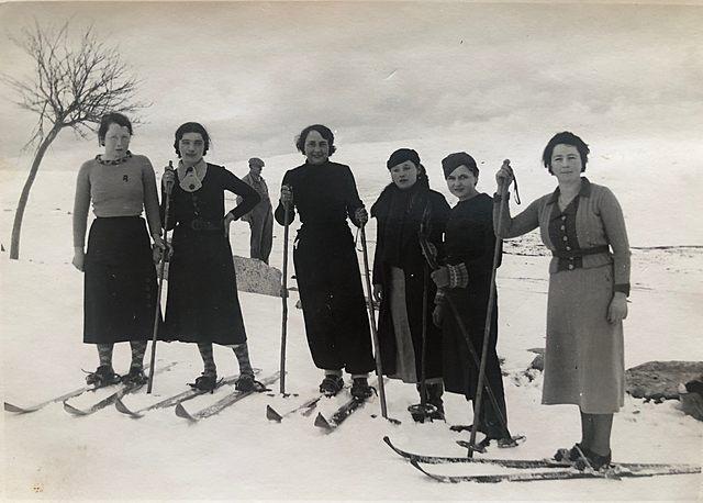 Alice fait du ski