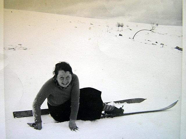 Alice fait du ski...