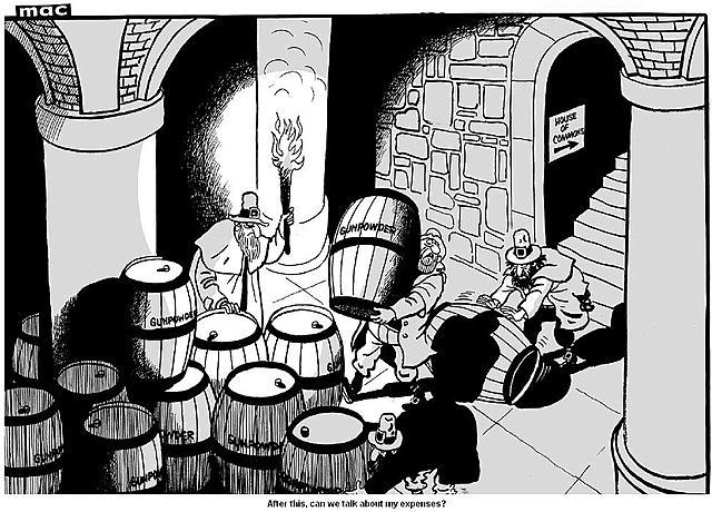 King James' Men Search the Cellars