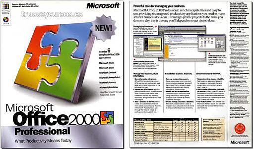 Aparición EXCEL 9.0,EXCEL 2000