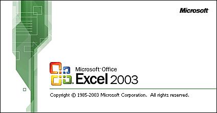EXCEL 11.0/EXCEL 2003