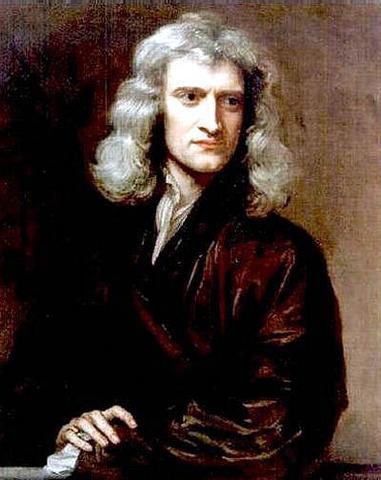 Isaac Newton.