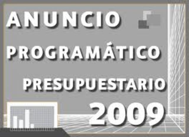 PRESUPUESTO POR PROGRAMAS Y ACTIVIDADES