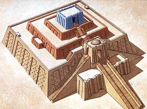Templo Rojo de Babilonia