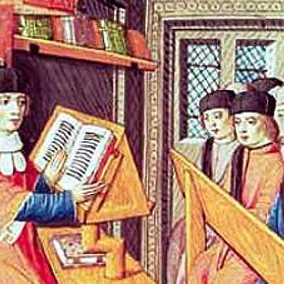 Historia de la educación en la Edad Media. V-XV timeline