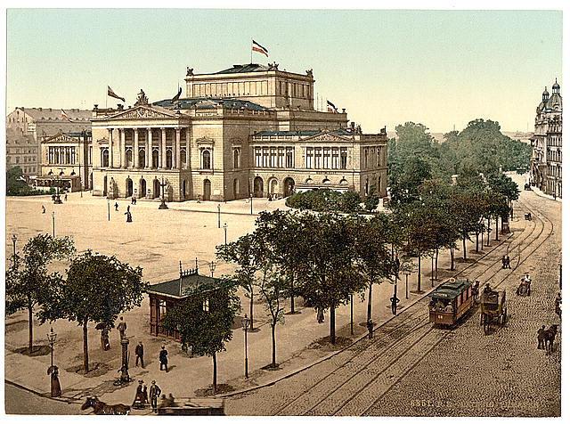 Birth of Richard Wagner in  Leipzig