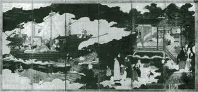 Portugese traders Arrival in japan