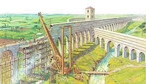 Acueducto Aqua Marcia en Roma