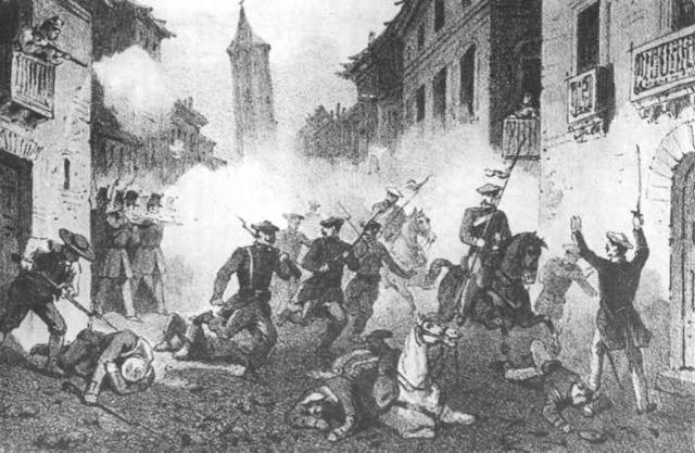 inicio de la primera guerra carlista