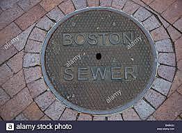 Alcantarillado en Boston