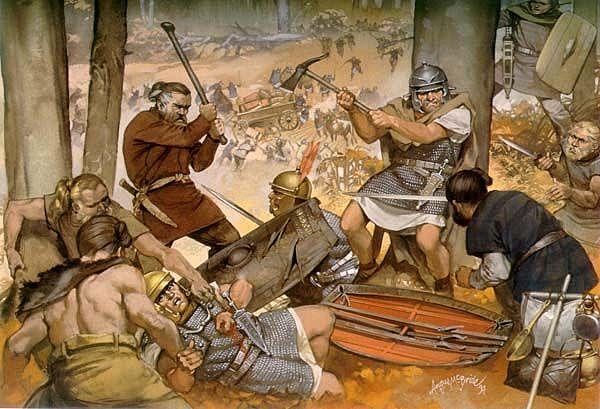 Siglo IV. Decadencia y caída del Imperio romano
