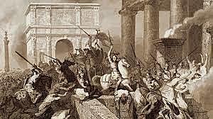 La etapa doméstica termina con la caída del imperio romano