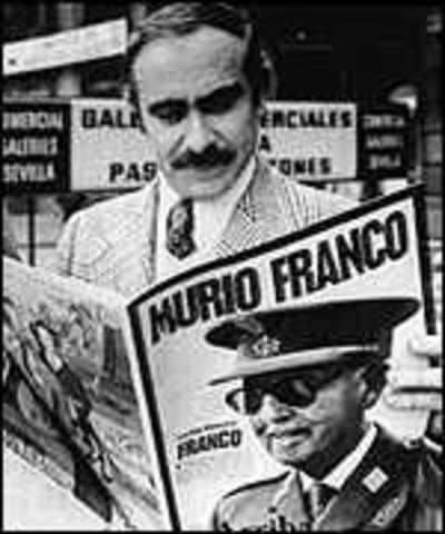 Muerte de dictador Franco