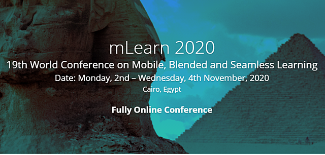 First Online mLearn Conference