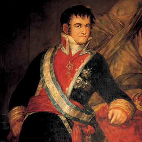 Fernando VII declarado rey