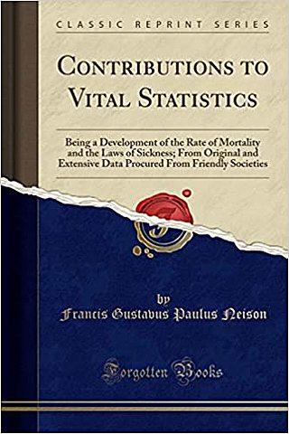 Contributions to Vital Statistics