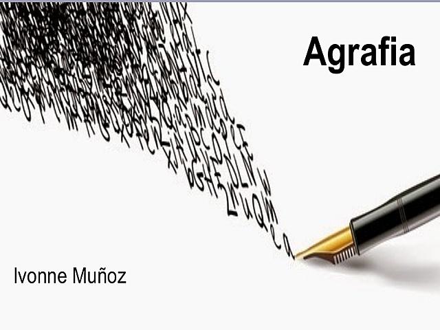 """Creación del término """"agrafia"""""""